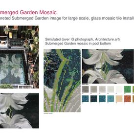 Submerged Garden Series Mosaics