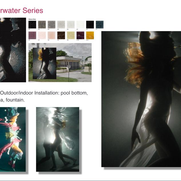 Underwater Series and Mosaics