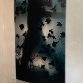 Large scale Photo Montage Underwater print