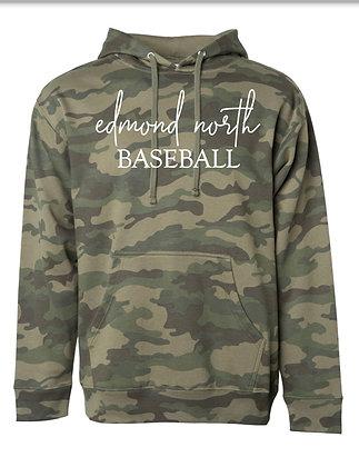 ENHS Baseball Camo Hoodie