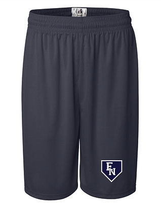 EN Baseball Navy Practice Shorts