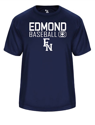 EN Baseball Navy Short Sleeve Practice Tee