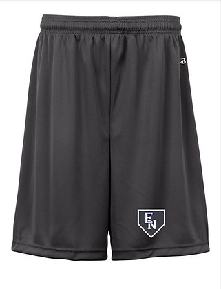 EN Baseball Grey Practice Shorts