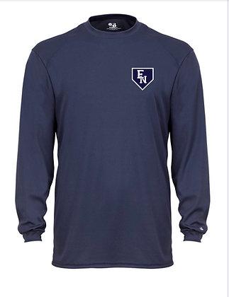 EN Baseball Navy Long Sleeve Practice Shirt