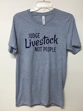 Judge Livestock Not People