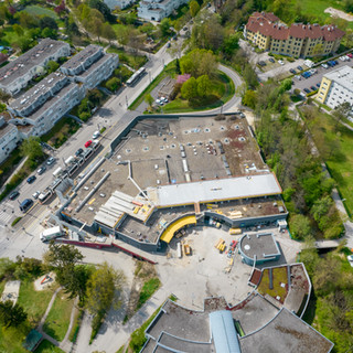 Luftaufnahme Pertlwieser, Magistrat Linz