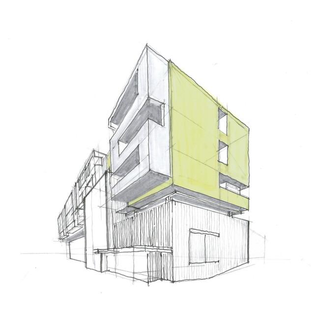 Rendering Architekturbüro Redtenbacher