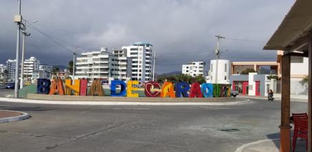 Sept 28th 2019 - Entering Bahia de Caraquez, Ecuador