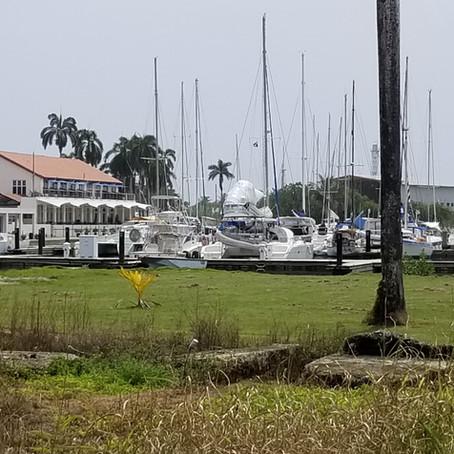 July 16th 2019  Shelter Bay, Panama to Portobello Harbor, Panama