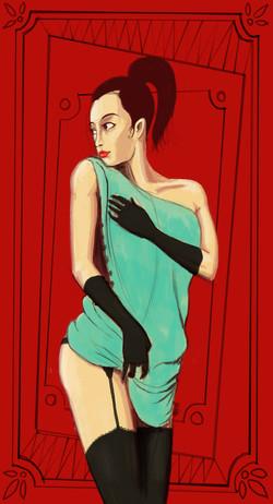 Kankan girl undressing