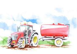 Paintings for the agrofest 2015