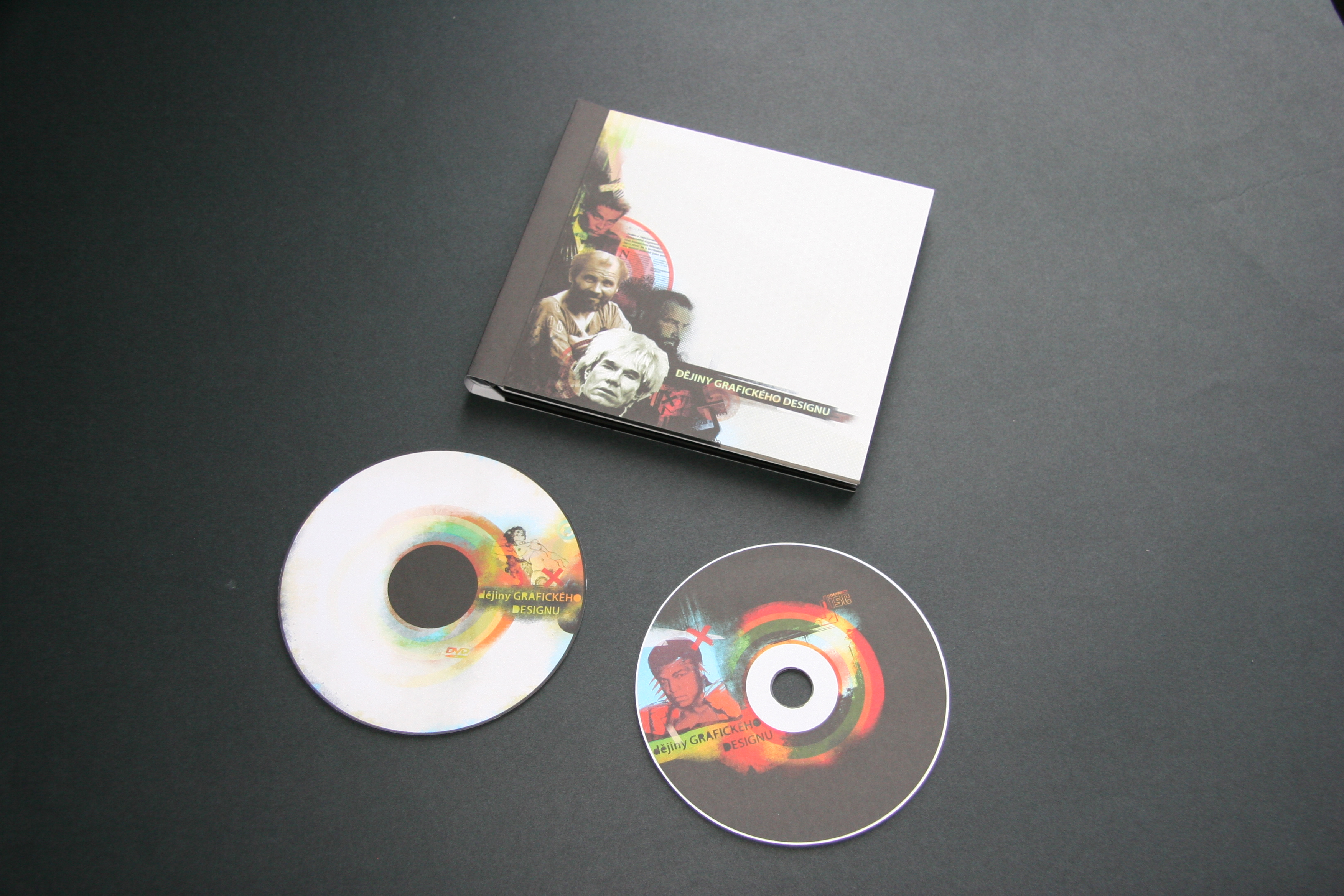 History of design cd cover