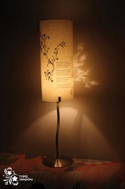 Typo lamp