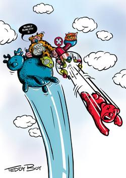 TEDDY BOY - CHILDREN SUPER HERO