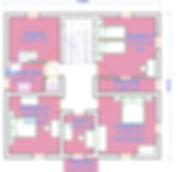 Plan Maison des Champs étage 1