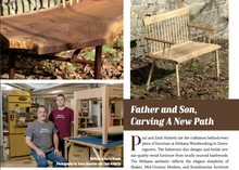 Miikana Woodworking Featured in Crave Magazine