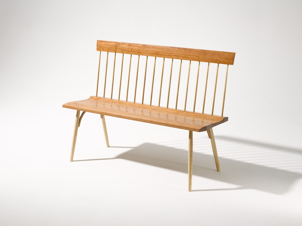 Spindle Back Bench