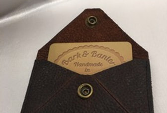 BUSINESS/LOYALTY CARD HOLDER - TEXTURED LEATHER