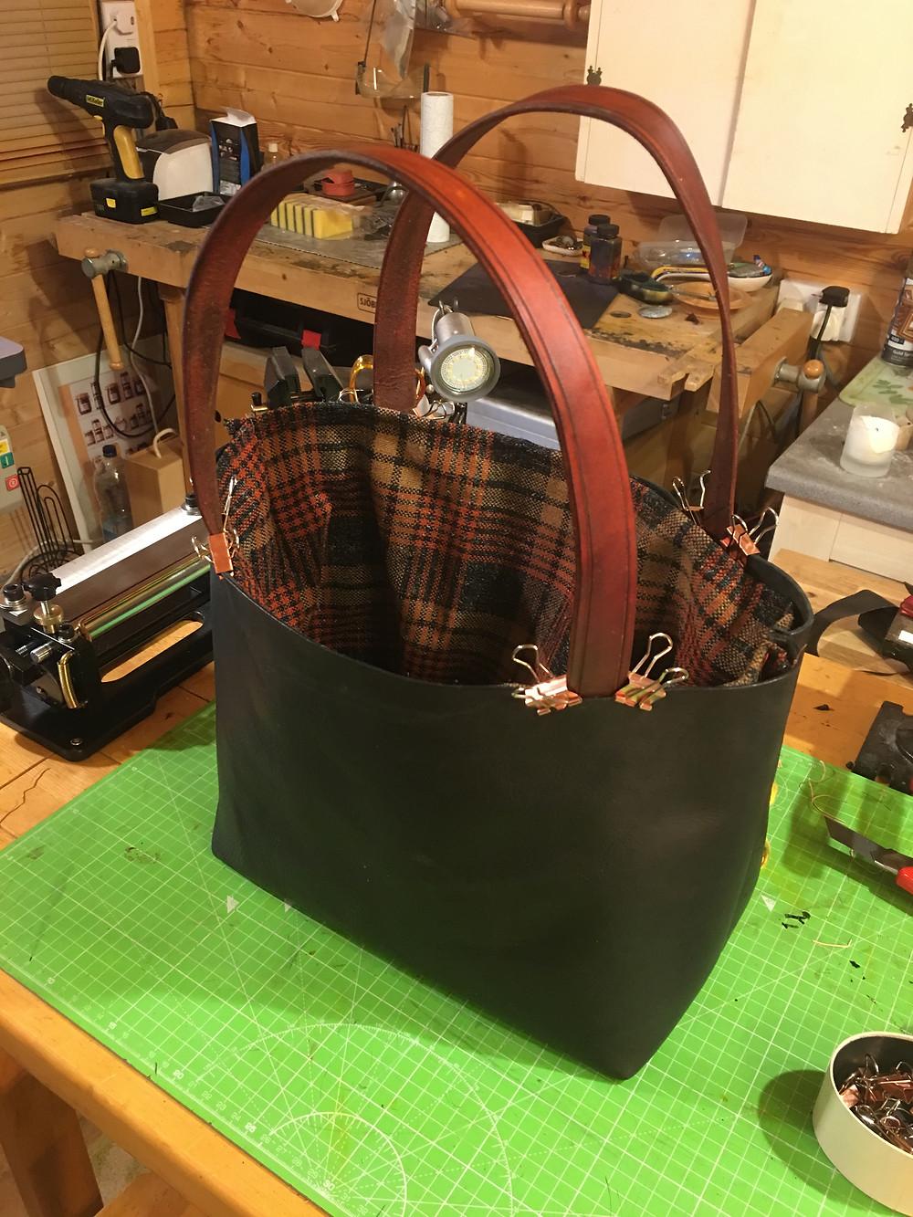 work in progress - new style handbag
