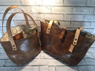 soft light tan leather bags