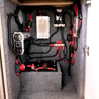 Interior converted RAM Promaster 1500