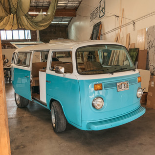 Converted Volkswagon Bus