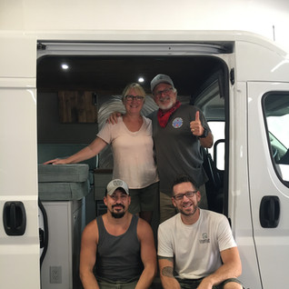 Happy delivery day to happy van lifers