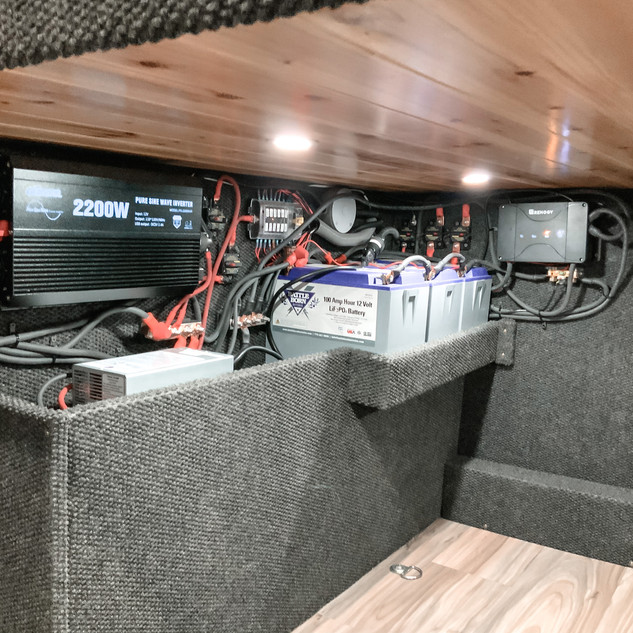 """Converted RAM Promaster 159"""" WB"""