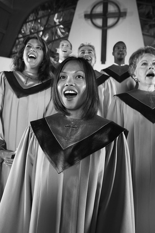 Group harmony for Jazz and Gospel