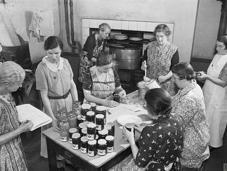 Surviving the 1940s - food for free