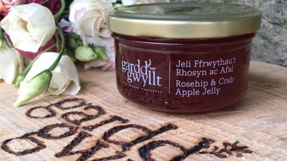Rosehip and Crab Apple jelly