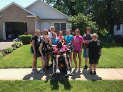 Group at Tony's house 2019