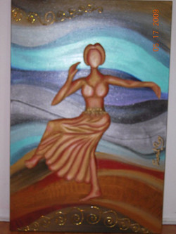 Bas Relief painting for Rhythmaxdance
