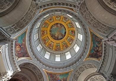 Dôme de l'hôtel des Invalides