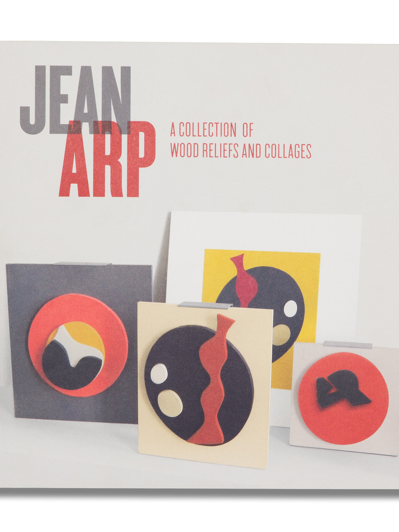 Jean Arp - A collection of wood reliefs & collages