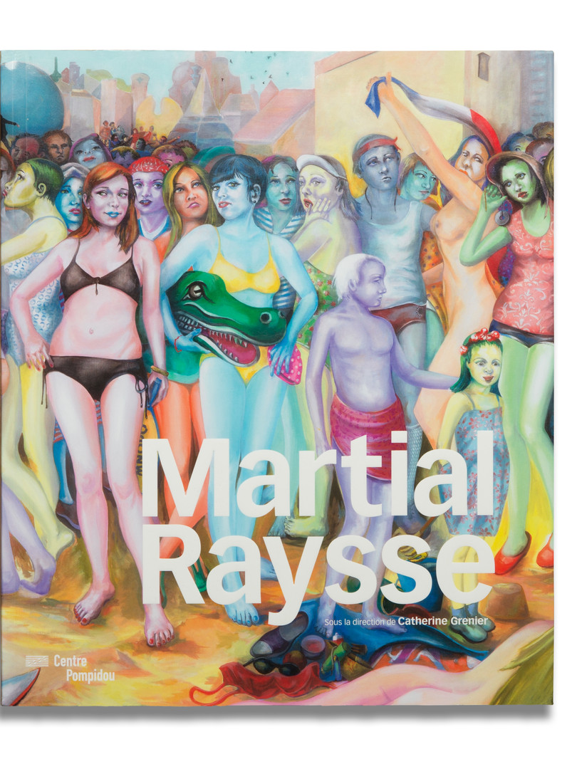 Martial Raysse au Centre Pompidou