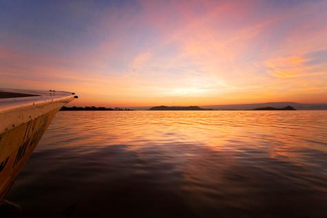 Lever de soleil, Lac Baringo