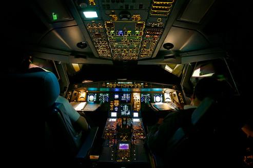 Cockpit A330