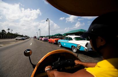 Coco taxi, La Havane, Cuba
