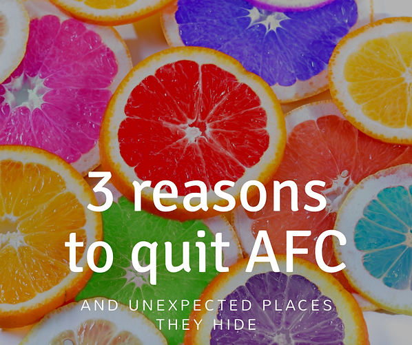 3 reasons to quit artificial food coloring and unexpected places ...