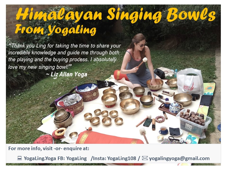 Choosing a singing bowl...