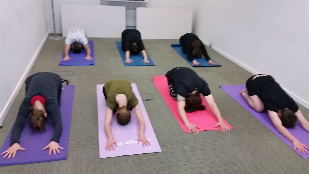 Corporate Yoga