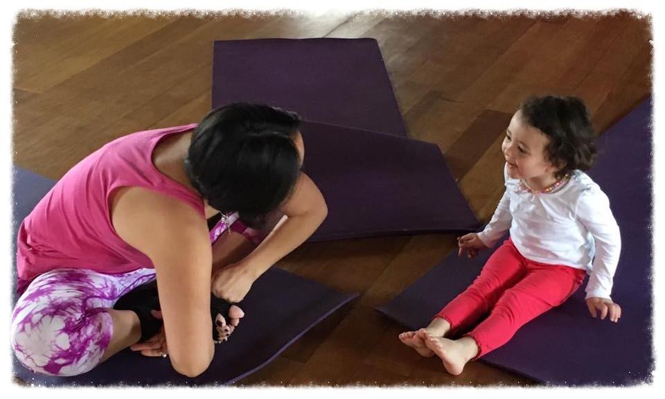 Engaged yoga!