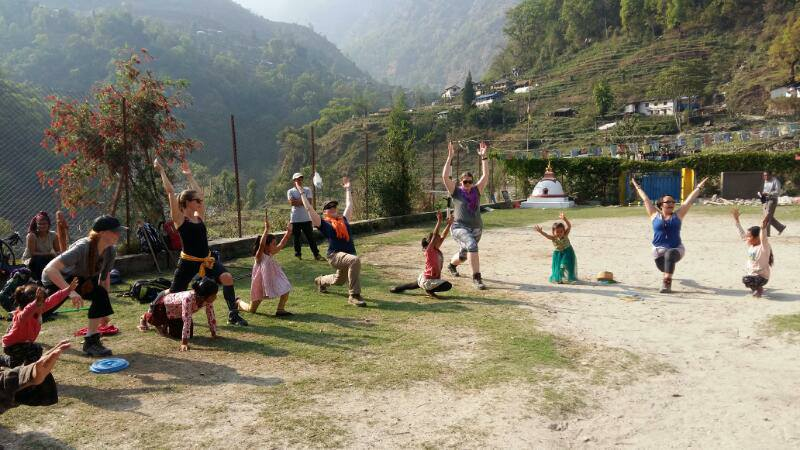 Karma Yoga with Children