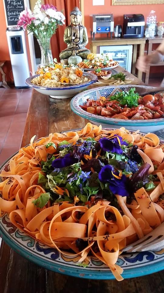 Delicious Organic Vegetarian Food