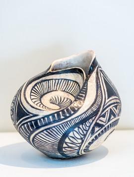 Martine Pile 'Shell Vase'