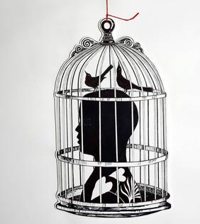 Kraig Yearwood 'Untitled (Caged)