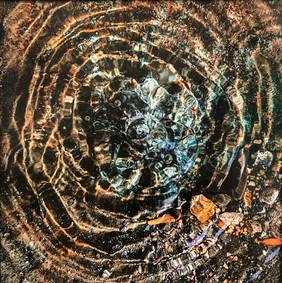 Adrian Richards 'Water Mandala 1'