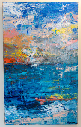 Alex Mars 'Sunset Abstract'