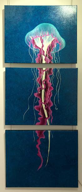 Nicole Metzger 'Glowing Jellyfish'